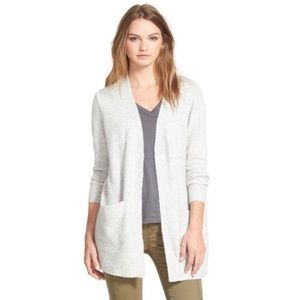 Madewell Long Open Front Knit Soft Cardigan